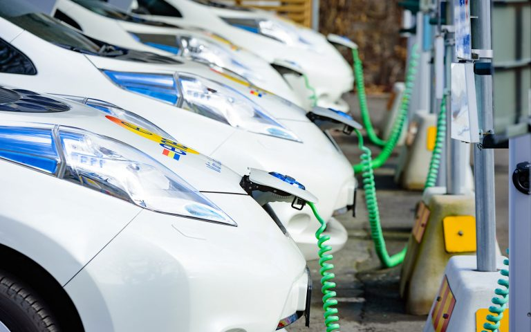 Electric cars charging Environment Tour