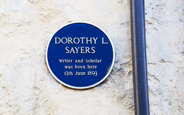 Dorothy L Sayers English Literature Tour