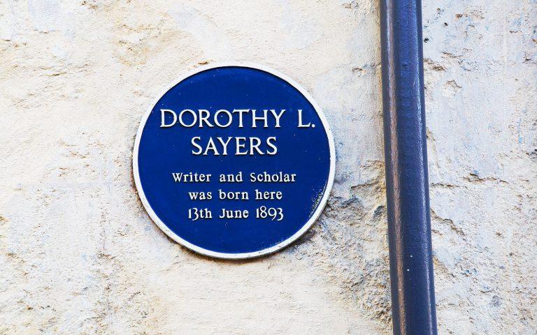 Dorothy L Sayers English Literature Tour