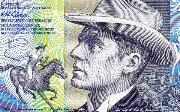 Banjo Patterson on Australia's $10 note English Literature Tour