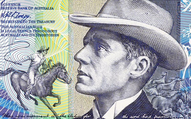 Banjo Patterson on Australia's $10 note English Literature Tour