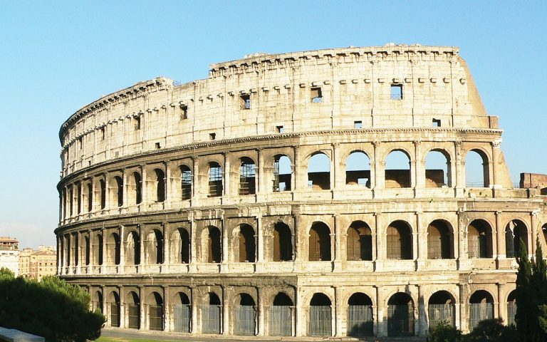 Colosseum. Ancient Italy History Tour and combine with Ancient Greece Tour for Ancient Civilisations