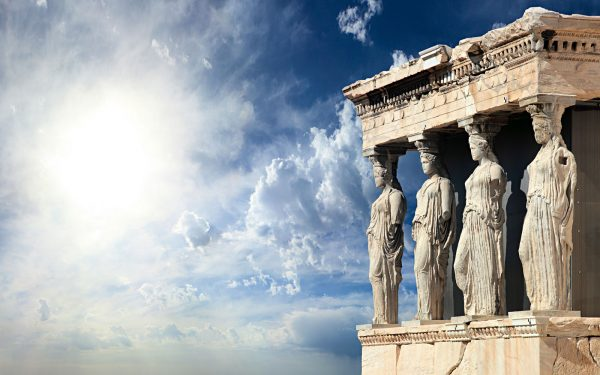 Erechtheum on the Acropolis Ancient Greece History Tour