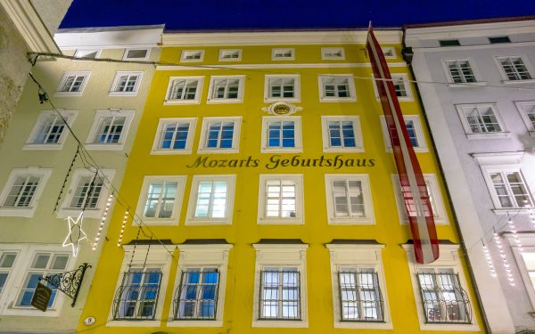 Mozart's House Salzburg Music Tour