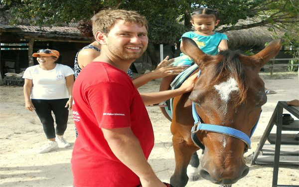 Horse riding Service Learning Tour Mexico