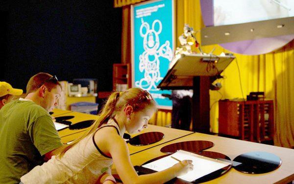 Disney graphics workshop Art Tour, Visual Art Tour, Performing Art Tour, Design and Technologies Tour
