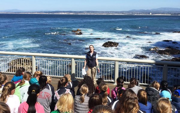 Learning about Monterrey Bay Geography Tour STEM Tour Environment Tour