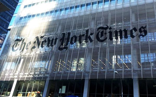 New York Times paper. Politics, Law, Economics, Business and a range of other tours