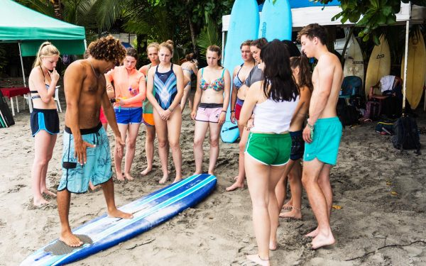 Surfing Lessons Health and Physical Education Tours, Sports Tours Competition