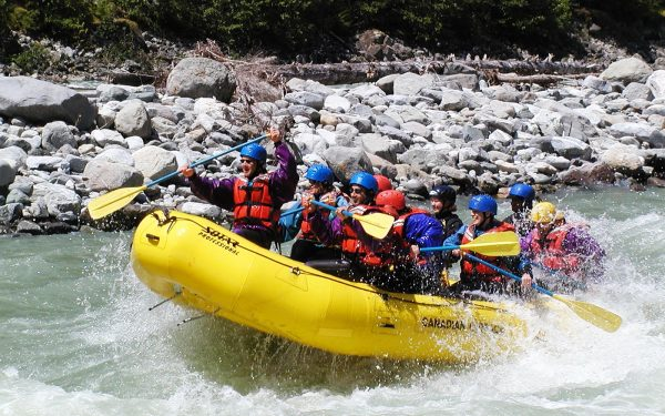 White Water Rafting Health and Physical Education Tours Sports TOurs