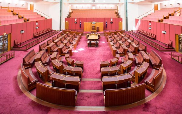 Parliament House Australia Senate Chamber Civics and Citizenship tour Politics Tour Law Tour