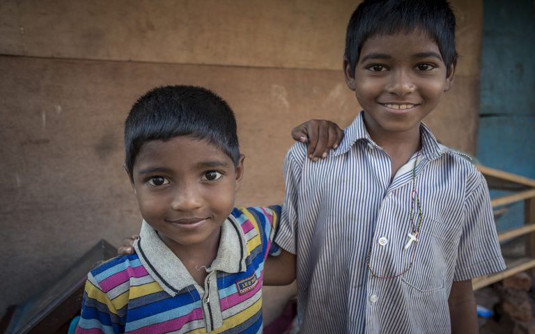 Borthers Community Service Learning Tour India