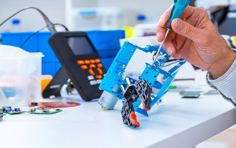 Screwdriver and hand assembling gadget