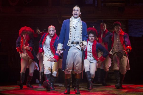 Hamilton The Musical. American Revolutionary War Tour
