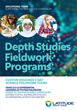 In depth studies brochure