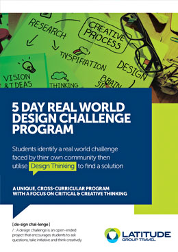 5 day real world challenge brochure